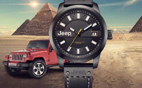 Jeep JPW636吉普男士夜光防水进口石英腕表