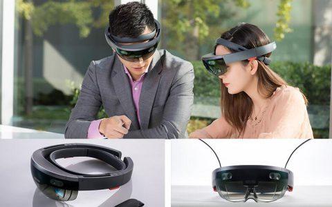 Microsoft/微软HoloLens开发者版本全息头盔 (虚拟现实眼镜)