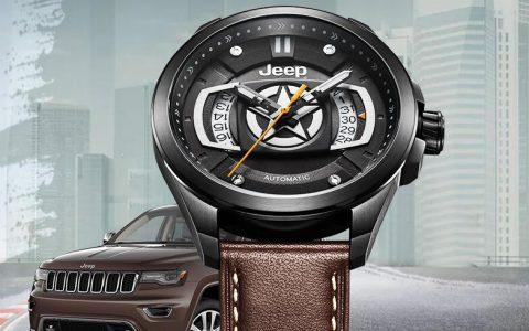 Jeep JPG922大切诺基 吉普全自动机械商务休闲男士手表