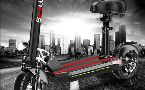 希洛普 XLP- Q8 锂电池可折叠电动滑板车性价比评测