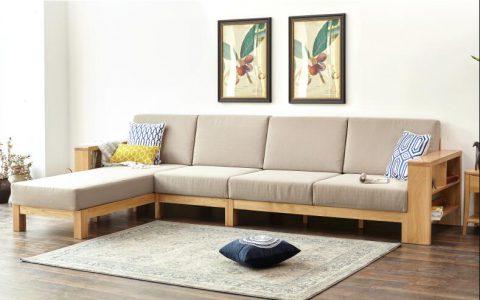 源氏木语全实木简约橡木转角沙发性价比评测