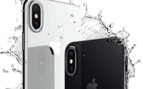 iPhone手机进水屏幕有水印怎么办?