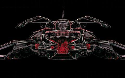 明日世界,美国Lee Souder的硬科幻机械感飞船设计!