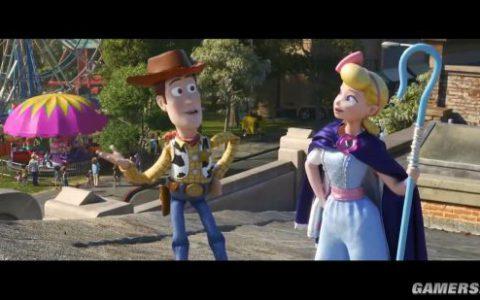 《玩具总动员4》开年新预告,胡迪牧羊女官宣恋情