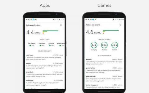 Google Play商店对评论做了稍微的变动
