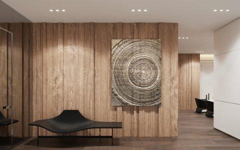 温润儒雅的现代主义风格室内设计!