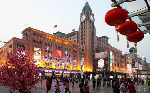 北京这条土豪一条街,美女如云花钱如流水,美国日本游客都来购物