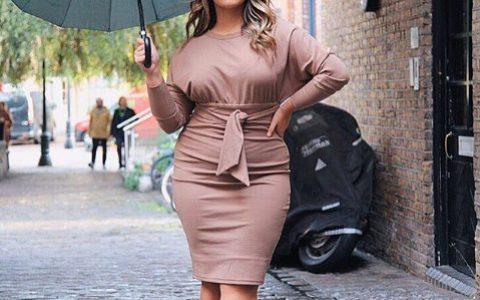 160斤胖妞靠健身增肌,成功从网红转型为大码模特!