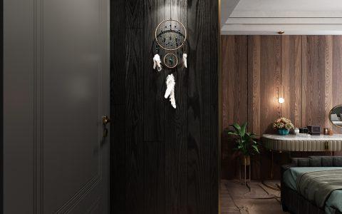 酷酷的深色控现代风格室内设计,确认过眼神遇见对的人!