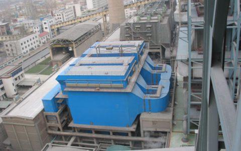 钢厂烧结机机尾电除尘器改造