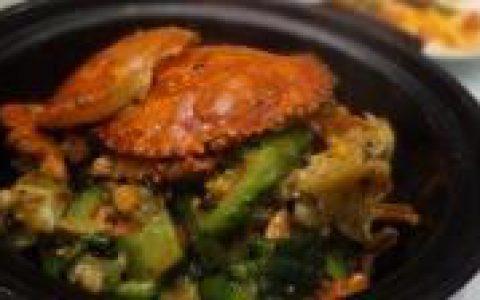 凉瓜蟹煲吃出海洋健康味