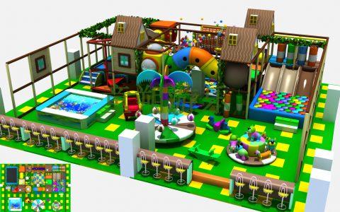 全民创业选择室内儿童乐园