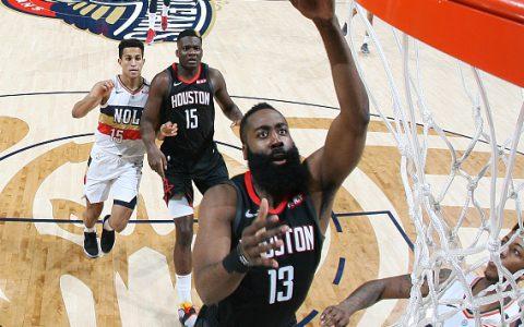 3月25日NBA当日最佳阵容:哈登三节打卡、阿德超神48分
