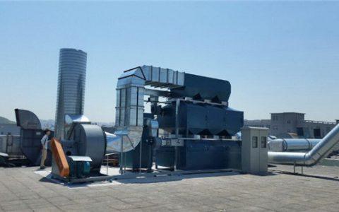 工业废气处理解决方案工业vocs废气处理