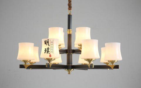 40款新中式吊灯,简约中式家装吊灯