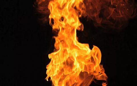 AE素材,128个高清特效真实火焰视频素材,直接套用