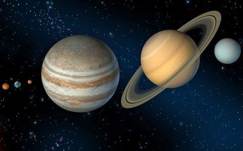 为什么行星是圆的?
