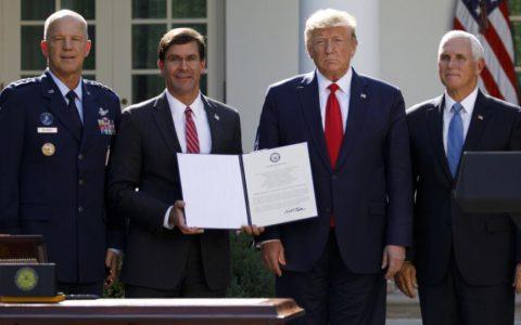 美国正式成立太空司令部,欲称霸太空