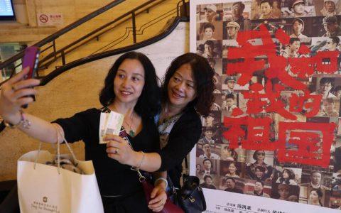 电影《我和我的祖国》国庆档期票房收入逾22亿