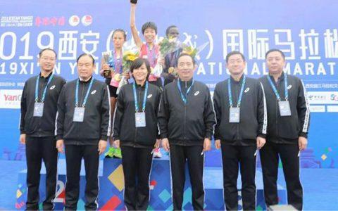 西安保安服务总公司连续三年荣耀西安国际马拉松赛安保服务总牵头