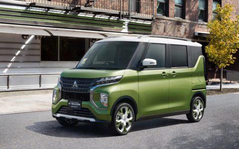 三菱的小型Super Height K-Wagon概念SUV在东京首次亮相