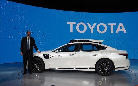 丰田将在东京奥运会上提供自动驾驶汽车服务