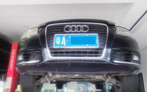 奥迪A6自动变速箱起步抖动维修