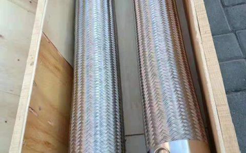 不锈钢波纹金属软管法兰连接价格