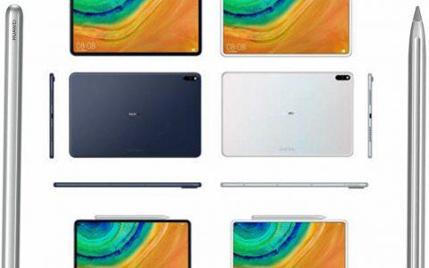 华为的下一代平板电脑可能看起来像iPad Pro