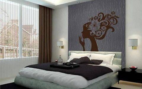 卧室的墙面,刷什么颜色好看?