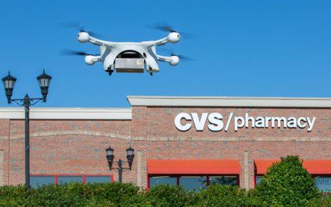 CVS开始通过UPS无人机向家庭送货药品,礼物和零食