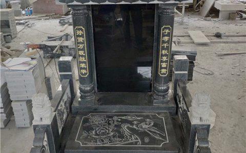 现代传统石雕墓碑写法