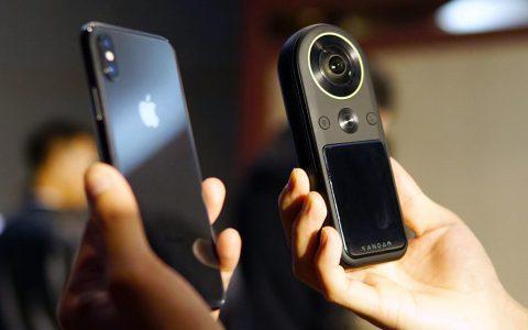 世界上最小的360摄像机QooCam 8K,可以放在口袋里