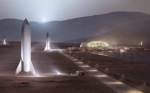 在火星上建造第一个可持续发展的城市将需要1,000艘飞船和20年的时间