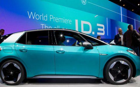 大众汽车开始在中国生产其ID.3 EV电动汽车