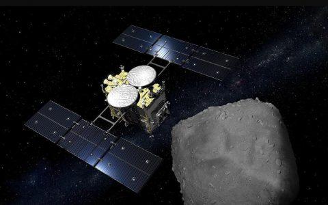 日本的Hayabusa2带着小行星样本返回地球