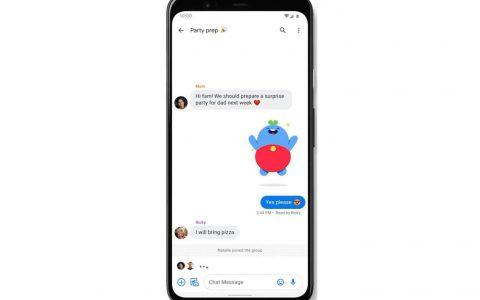Google向美国的Android手机用户推出了下一代RCS短信