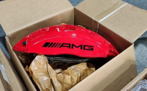 奔驰G500改G63原厂外观套件刹车轮毂包围大灯