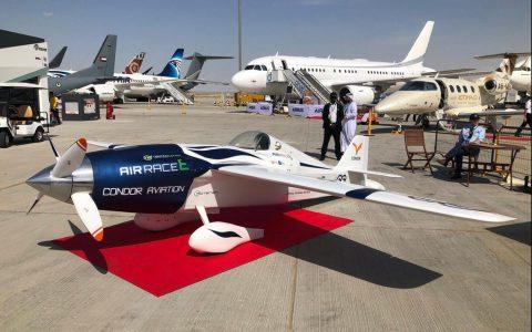 空中竞速赛推出全电动运动飞机
