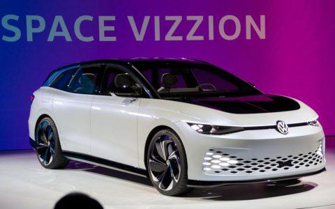 大众的ID Space Vizzion概念车亮相