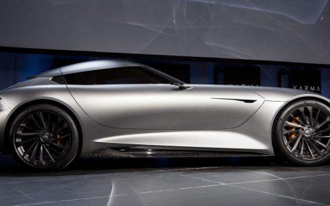 Karma's最新的超级跑车概念具有抢夺力量