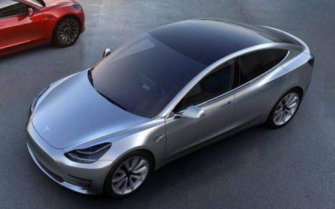 特斯拉Model 3将于周五在中国上市