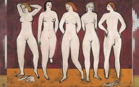 常玉《五裸女》油画3亿港元成交再刷新个人画作拍卖纪录