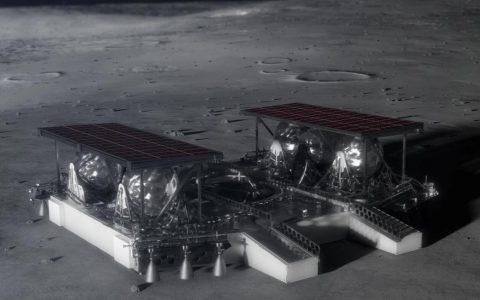NASA的太空托盘概念可以成本更低,简单地将月球车降落在月球上