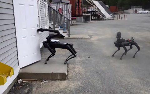 马萨诸塞州警方一直在悄悄测试机器狗工作的使用方法