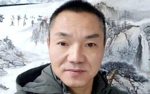 杨小平和他的国画作品