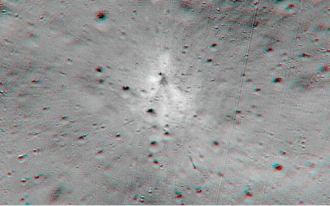 美国宇航局发现遗失的印度月球着陆器
