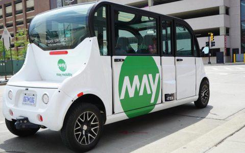 丰田领投自动班车创业公司May Mobility 5000万美元投资