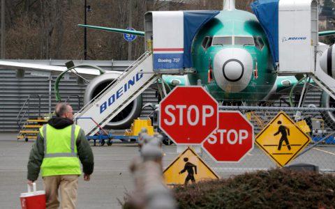 波音将冻结美国联邦航空局的737 Max飞机