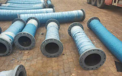 耐磨胶管和钢丝抽沙胶管DN350